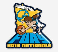 Basketball Trading Pin 1